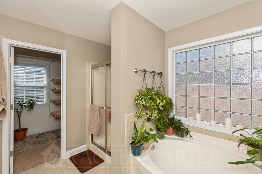 Staged Bathroom - Real Estate Photography - Rachel Carter Images - Sneads Ferry, NC