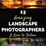 13 landscape photographers I love to follow - Rachel Carter Images