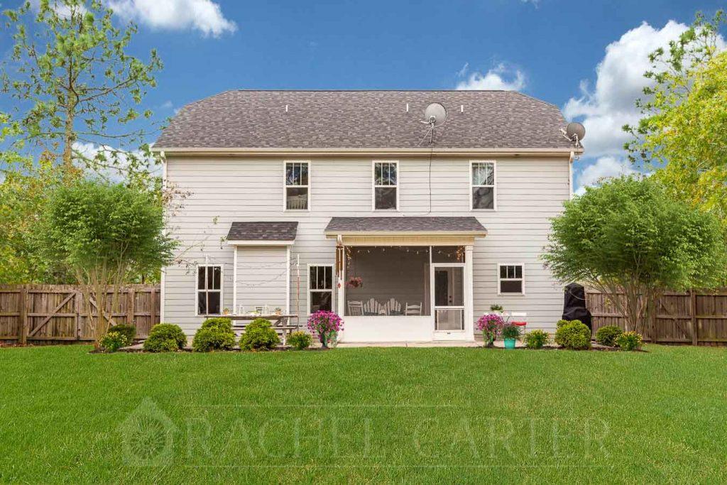 Rear Exterior - Real Estate Photography - Rachel Carter Images - Hampstead, NC