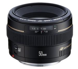 50mm canon prime lens