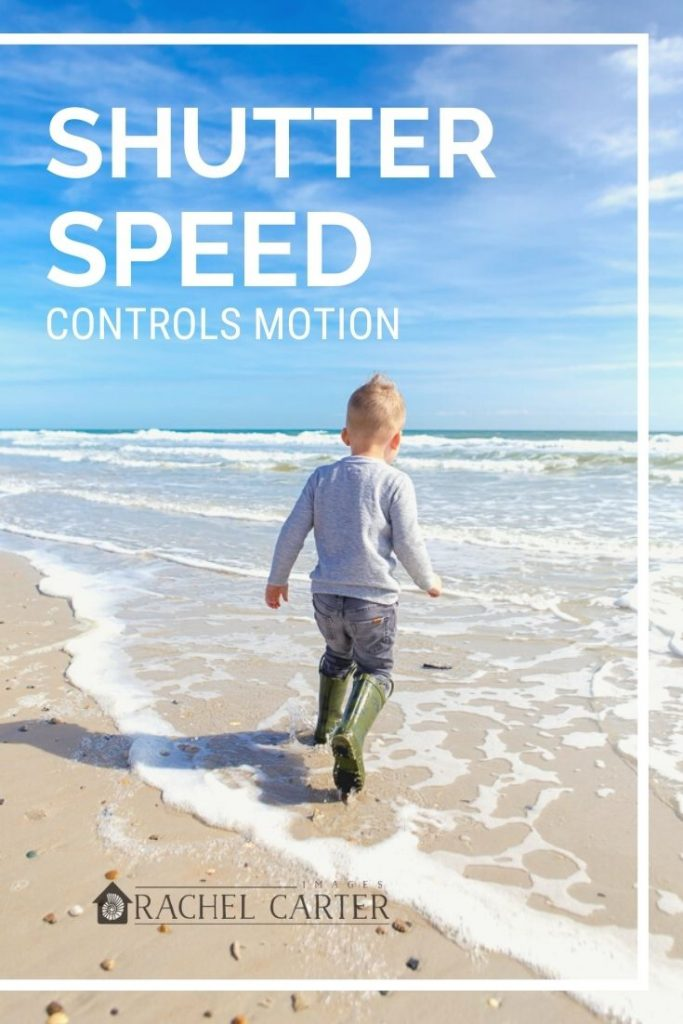 shutter speed controls motion - first step to using manual