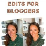 One Click Edits for Bloggers - Rachel Carter Images