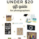 under $20 gift guide for photographers