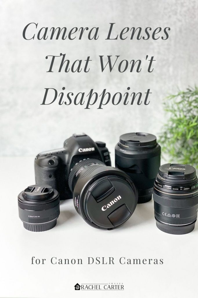 camera lenses that won't disappoint - Rachel Carter Images