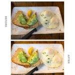 editing food photos on your phone - Rachel Carter Images