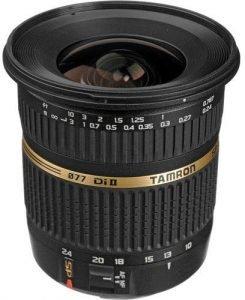 Tamron 10-24mm camera lens for crop sensors