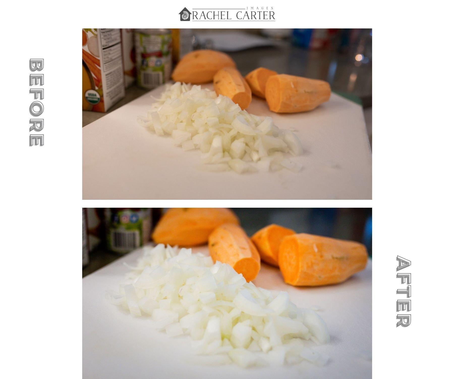 Onions for Sweet Potato Chili