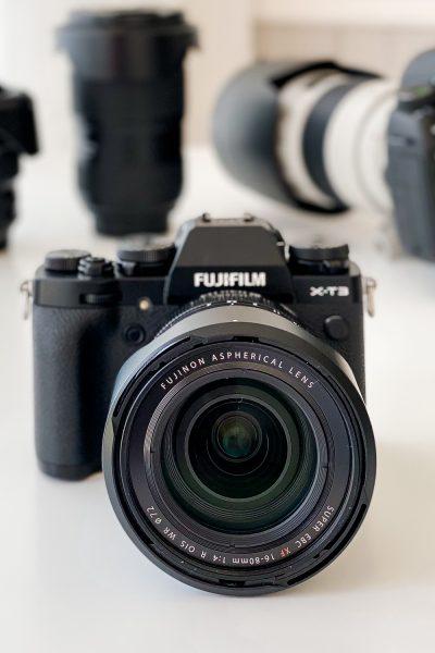 buying new vs used camera gear fuji x-t3 16-80mm