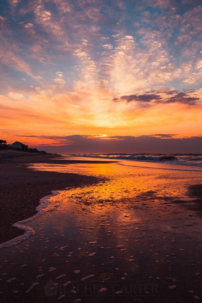sunrise surf city north carolina - rachel carter images - fuji x-t1