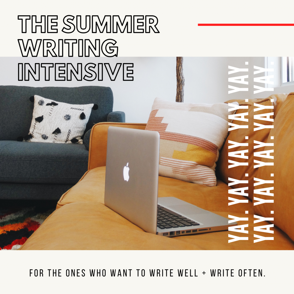 for the ones who want to write well and write often writing course